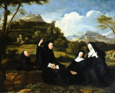 ST SCHOLASTICA PRAYER.